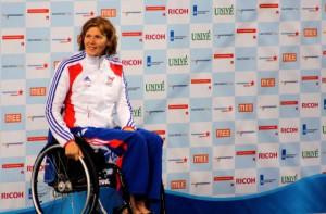 Anita Fatis aux jeux paralympiques 2012