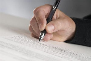 Signature de conventions