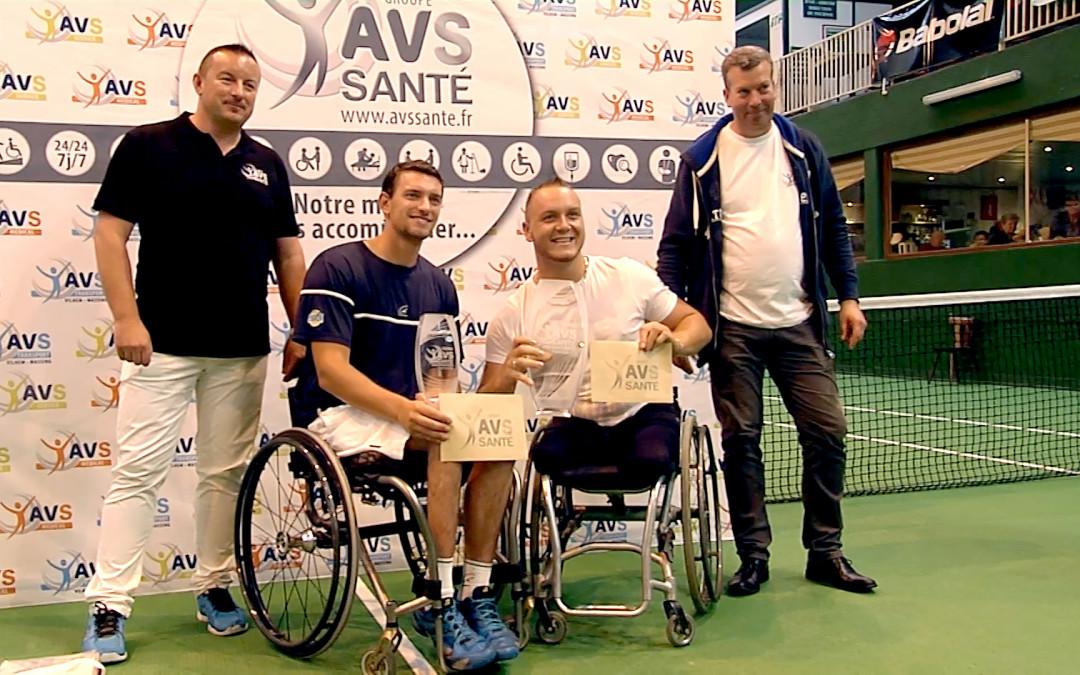 Finale du tournoi AVS Santé Open