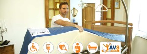 AVS Médical - Installation de lit